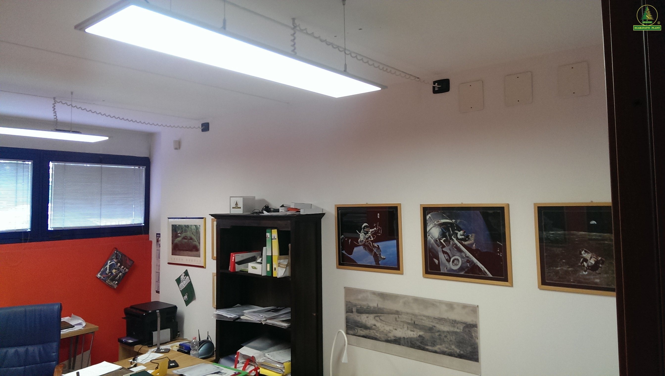 Luci per ufficio: lampade per studio random led hngelampe von italia