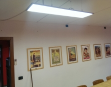 Sala riunioni PRAXIS 30 per 120, cetificata ENEC